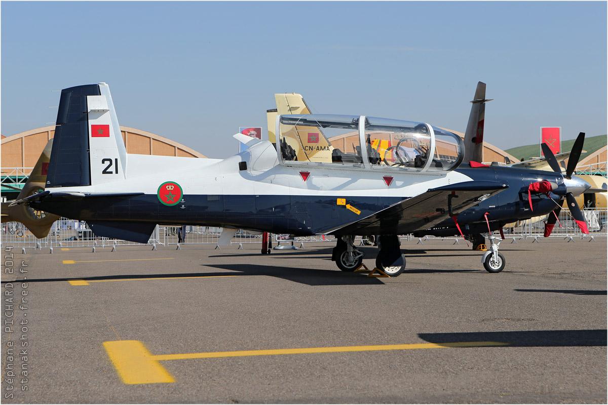 tof#7534_Texan 2_des Forces royales air du  Maroc