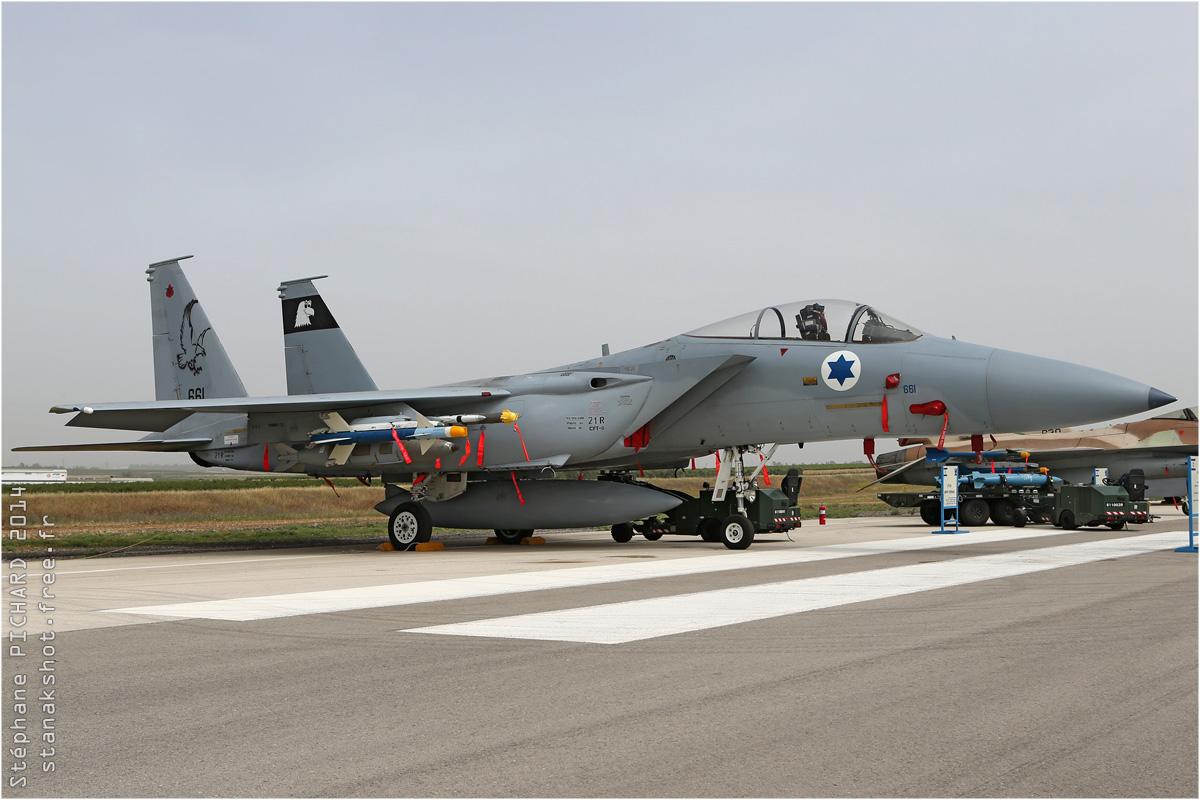 tof#7568 F-15 de la Force aérienne israélienne au statique à Tel Nof (Israel) en 2014