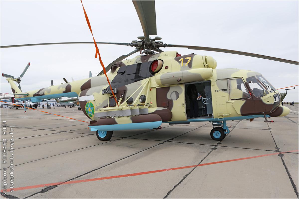 tof#7654 Mi-8 des Garde-Côtes du Kazakhstan au statique à Astana (Kazakhstan - air force) en 2014