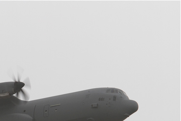 Diapo7580 Lockheed Martin C-130J-30 Hercules 661, Ramat David (ISR) 2014