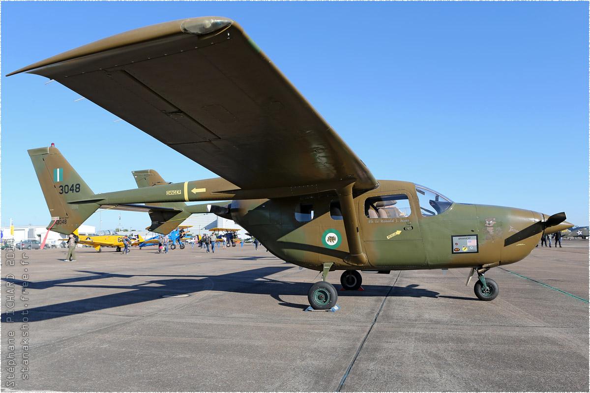 tof#8100 Cessna 336 enregistré aux USA au statique à Houston (TX, USA) en 2014