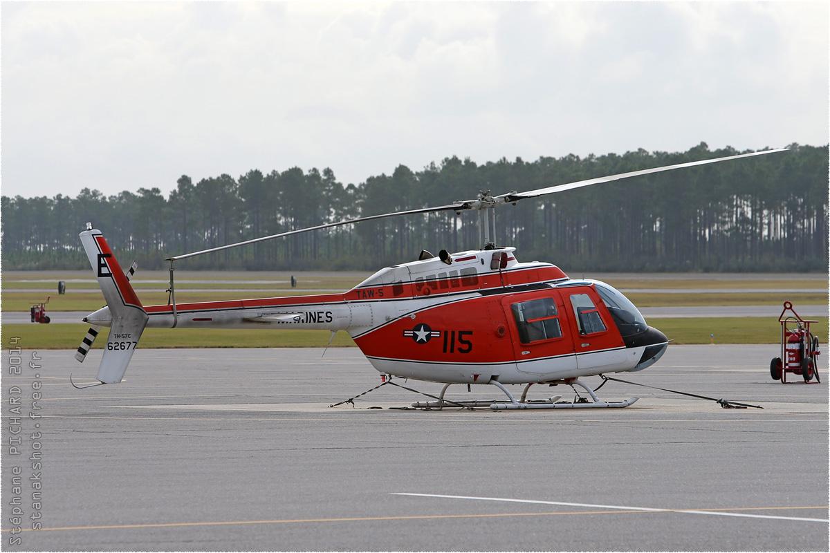 tof#8265 Bell 206 du Corps des Marines américain au statique à Whiting Field (FL, USA) en 2014