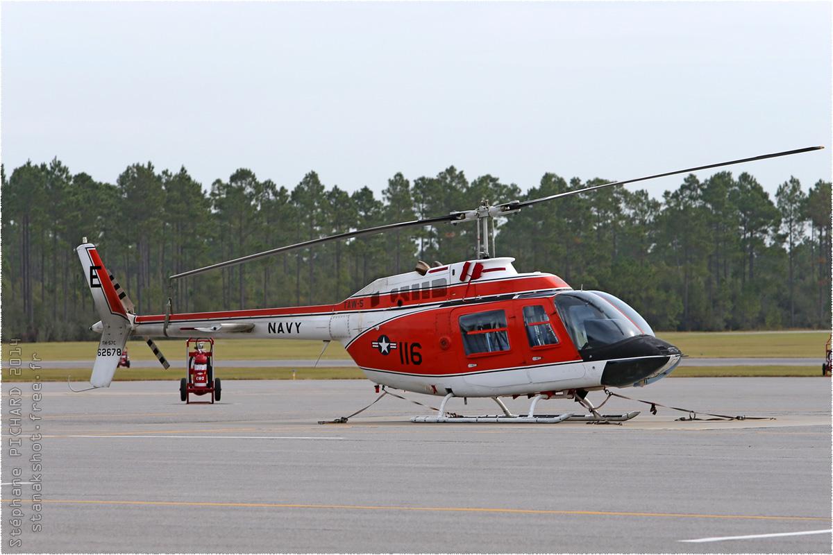 tof#8266 Bell 206 de la Marine américaine au statique à Whiting Field (FL, USA) en 2014