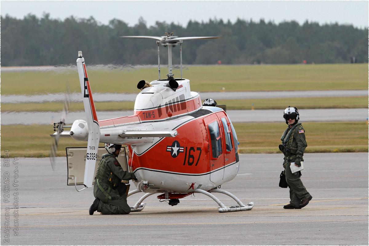 tof#8275 Bell 206 du Corps des Marines américain au statique à Whiting Field (FL, USA) en 2014