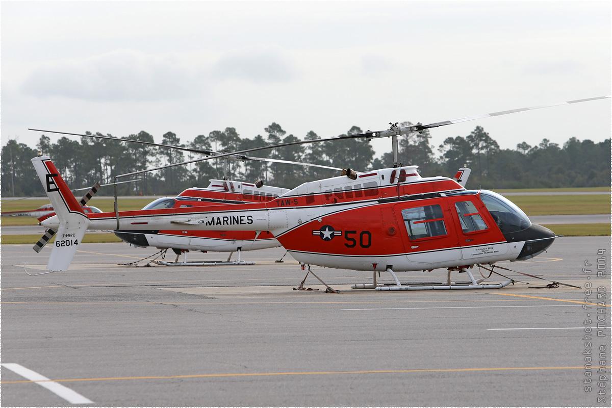 tof#8282 Bell 206 du Corps des Marines américain au statique à Whiting Field (FL, USA) en 2014