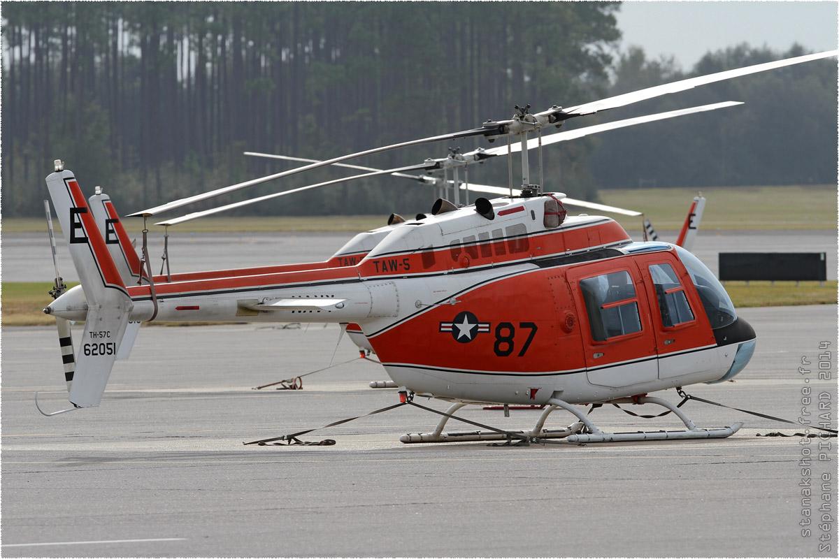 tof#8288 Bell 206 de la Marine américaine au statique à Whiting Field (FL, USA) en 2014