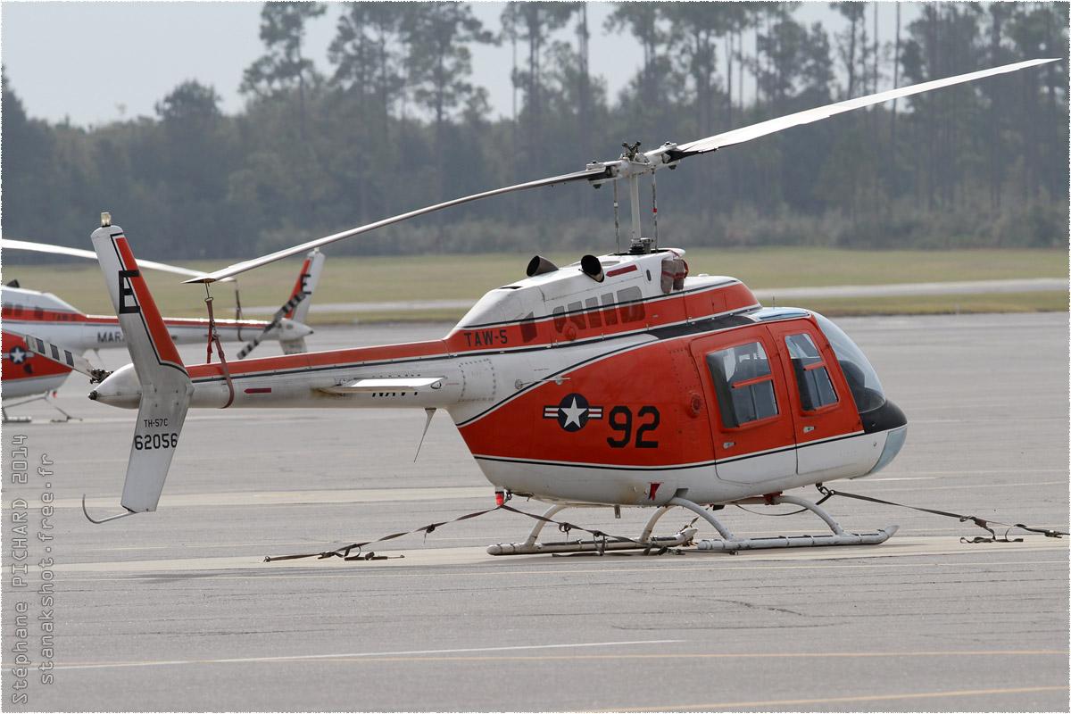 tof#8289 Bell 206 de la Marine américaine au statique à Whiting Field (FL, USA) en 2014