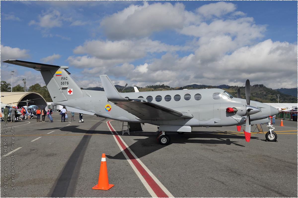 tof#8655_King Air_de la Force aérienne colombienne