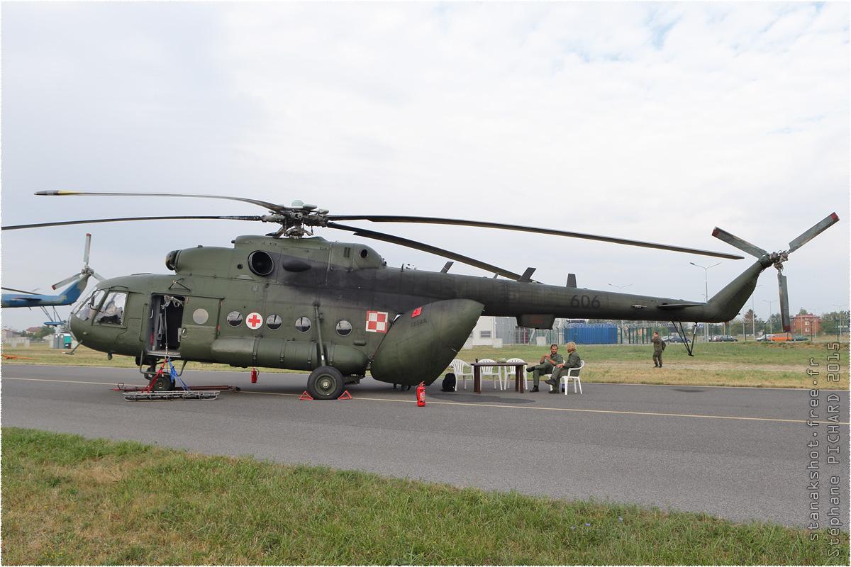 tof#8776 Mi-8 de l'Armée de terre polonaise au statique à Radom (POL) en 2015