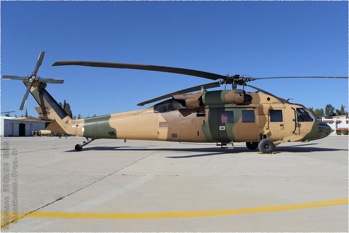 tof#8901 H-60 de la Force aérienne royale jordanienne au statique à Al Marqa (Jordanie) en 2015