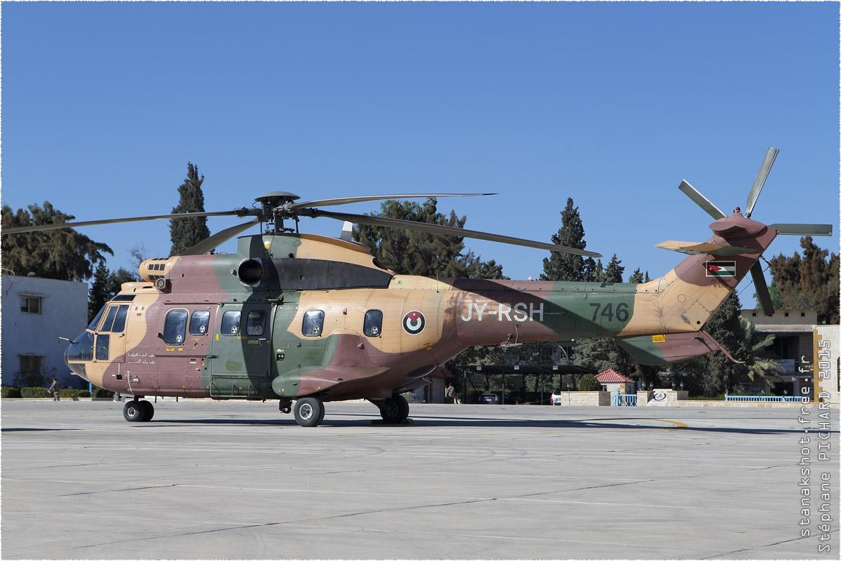 tof#8943 Super Puma de la Force aérienne royale jordanienne au statique à Al Marqa (Jordanie) en 2015
