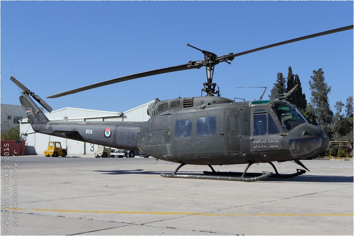tof#8946 Bell 205 de la Force aérienne royale jordanienne au statique à Al Marqa (Jordanie) en 2015