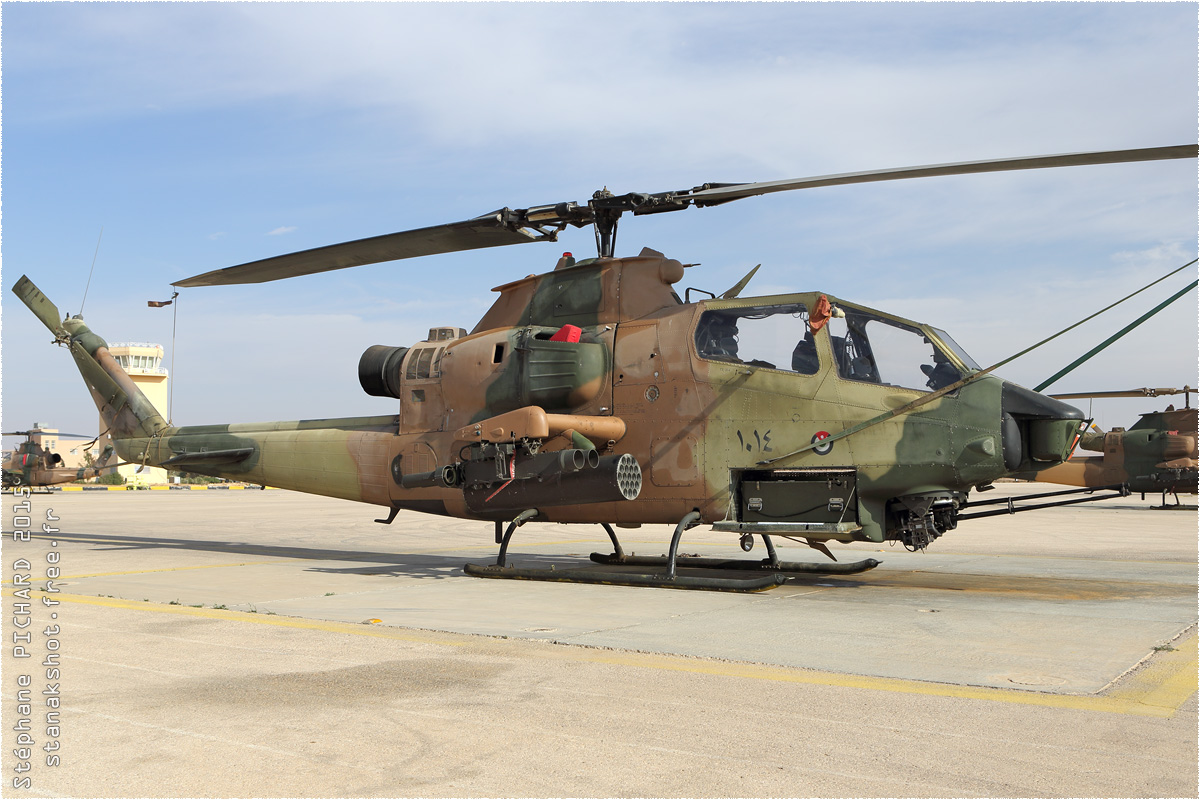 tof#8964 Cobra de la Force aérienne royale jordanienne au statique à Az Zarqa (JOR) en 2015