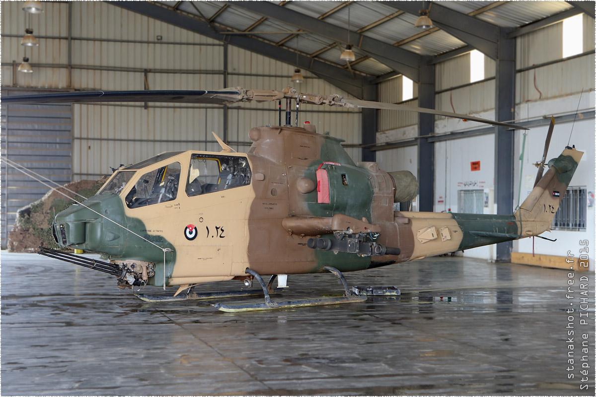tof#8966 Cobra de la Force aérienne royale jordanienne au statique à Az Zarqa (Jordanie) en 2015