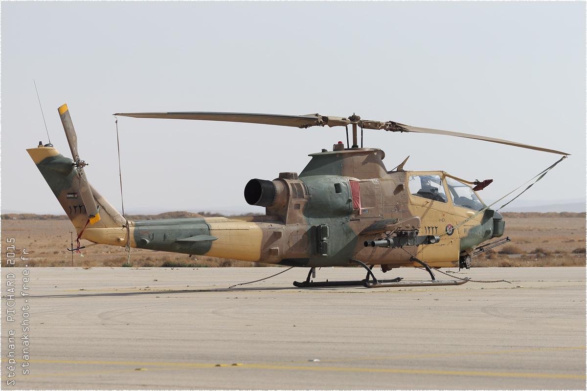 tof#8974 Cobra de la Force aérienne royale jordanienne au statique à Az Zarqa (Jordanie) en 2015
