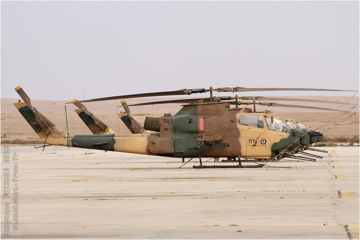 tof#8976 Cobra de la Force aérienne royale jordanienne au statique à Az Zarqa (Jordanie) en 2015