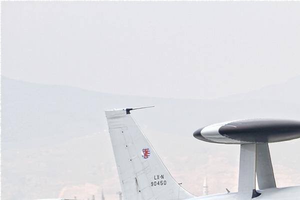 Photo#8587-1-Boeing E-3A Sentry