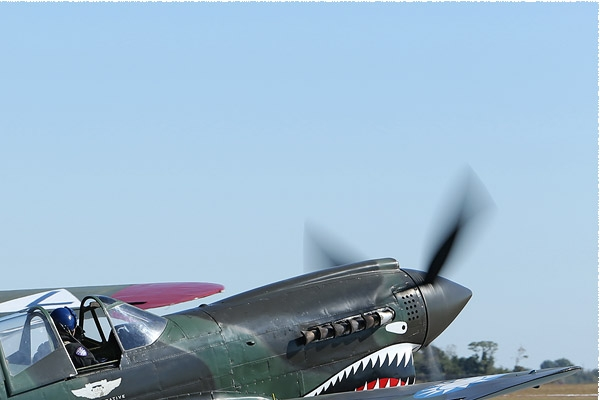 Diapo8058 Curtiss P-40N Warhawk 48/N1226N, Houston (TX, USA) 2014