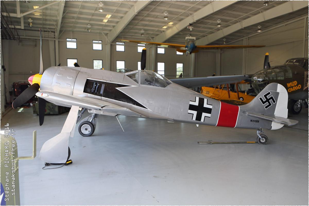 tof#9184 Fw 190 enregistré aux USA au statique à Virginia Beach (VA, USA) en 2016