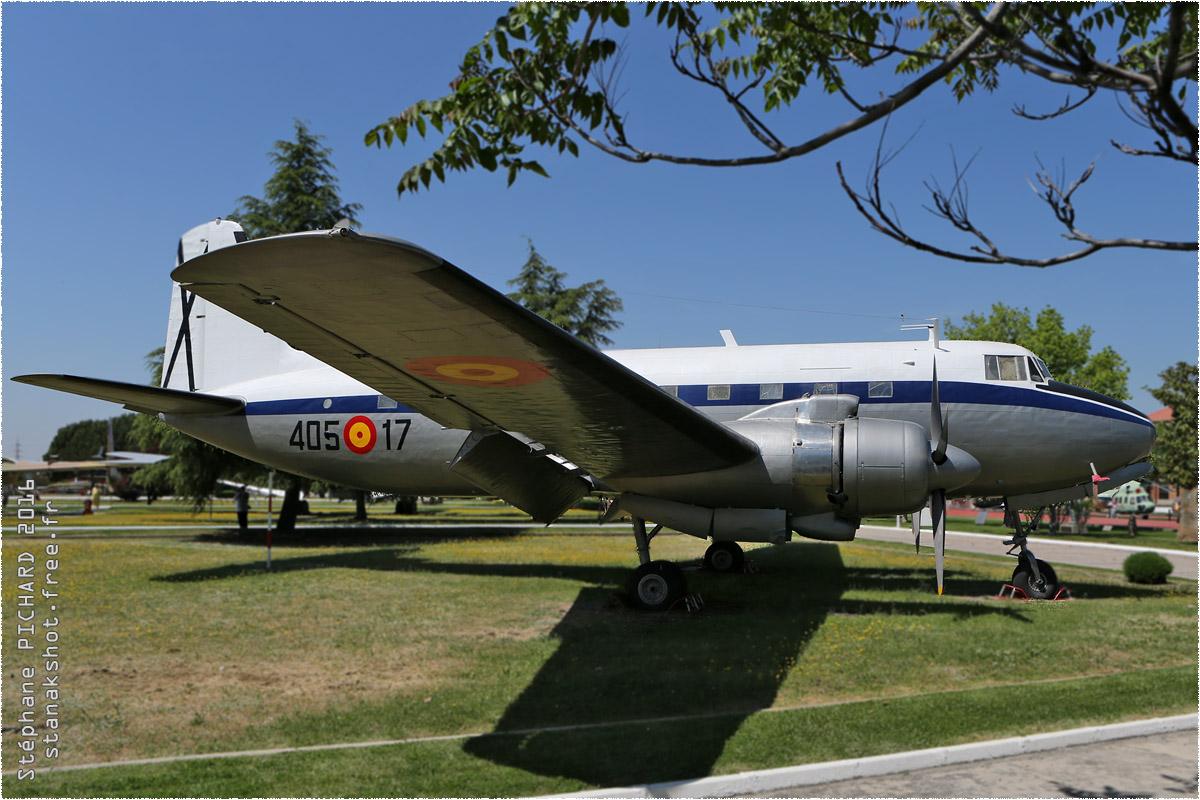 tof#9708 C-207 de la Force aérienne espagnole au statique à Cuatro Vientos (ESP) en 2016