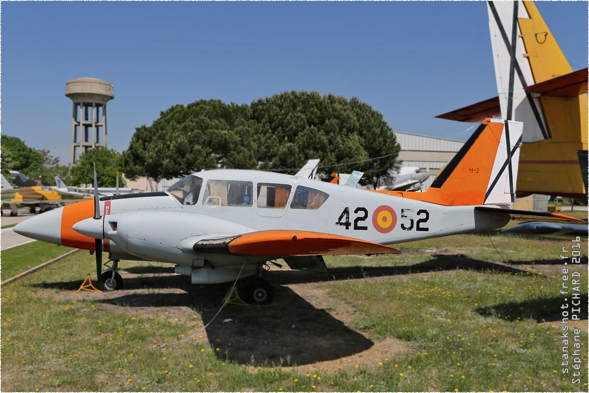 tof#9718 PA-23 de la Force aérienne espagnole au statique à Museo del Aire, Cuatro Vientos (Espagne)