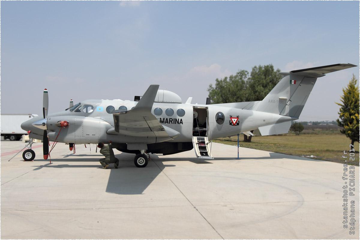 tof#9787_King Air_de la Marine mexicaine