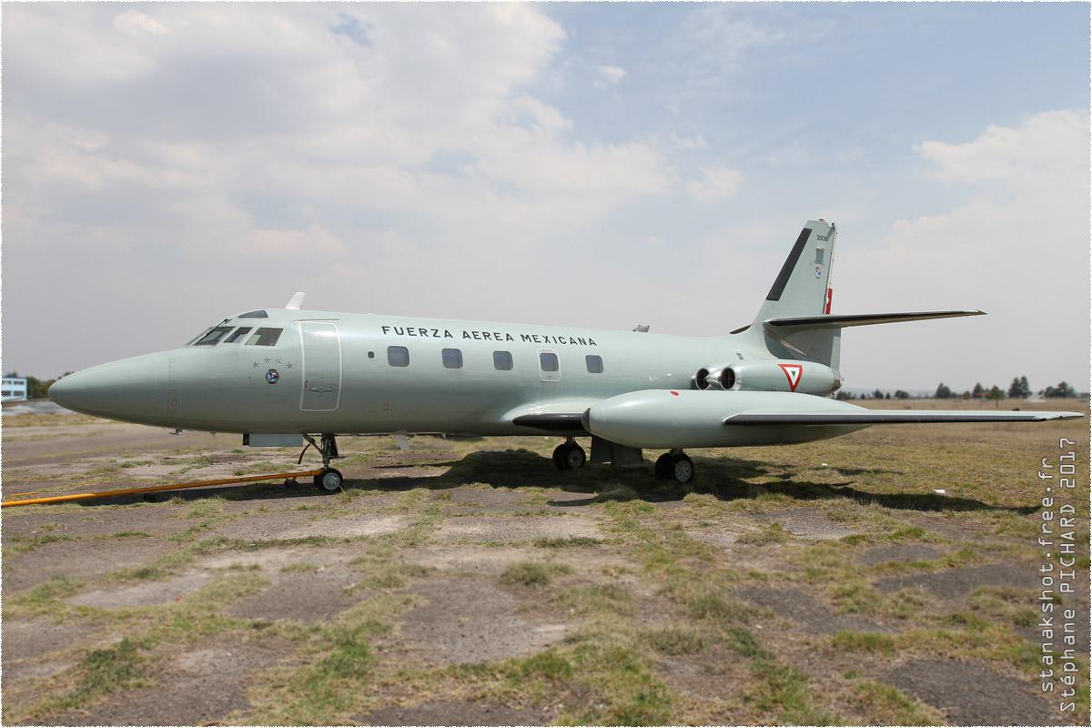 tof#9827 JetStar de la Force aérienne mexicaine au statique à Santa Lucía (MEX) en 2017
