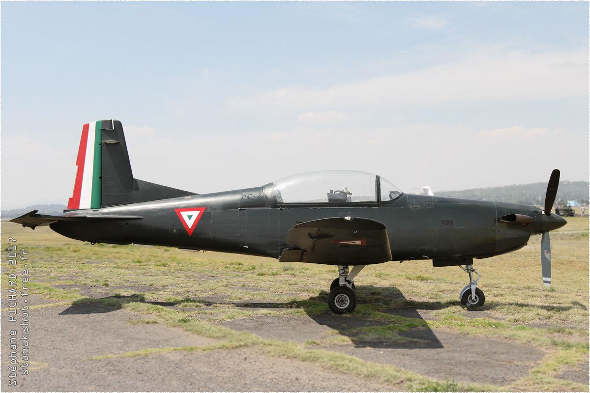 tof#9838_PC-7_de la Force aérienne mexicaine