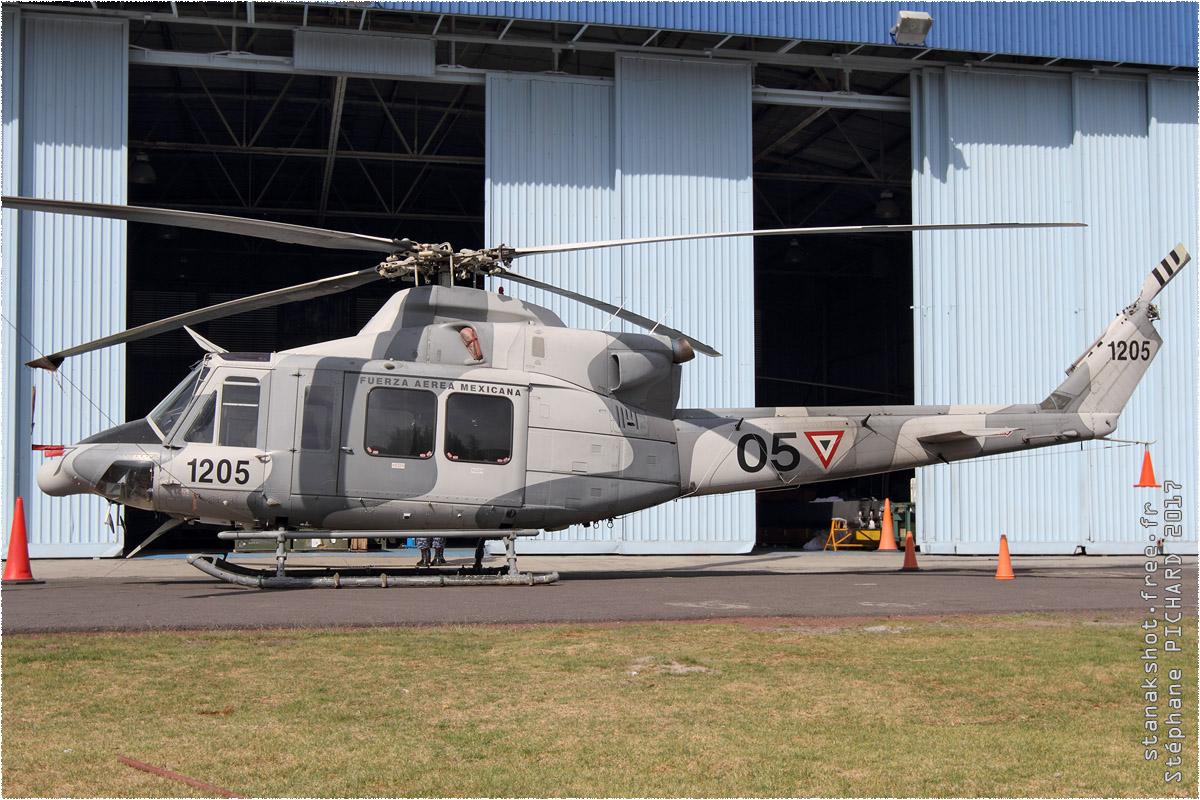tof#9861_Bell 412_de la Force aérienne mexicaine