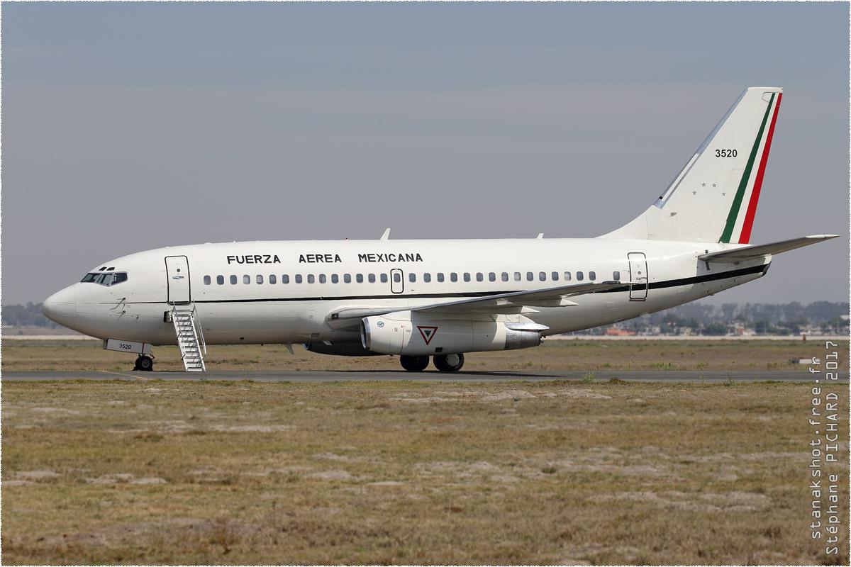 tof#9866_B737_de la Force aérienne mexicaine