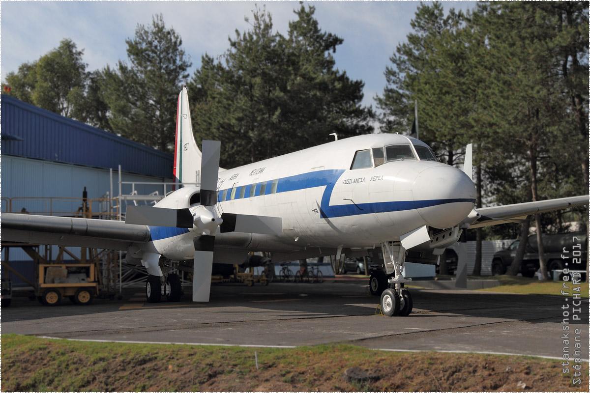 tof#9877_Convair 240_de la Force aérienne mexicaine