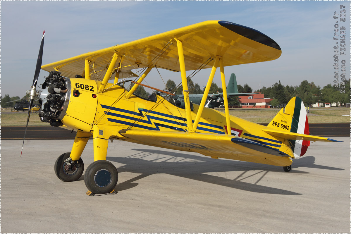 tof#9895_Stearman_de la Force aérienne mexicaine