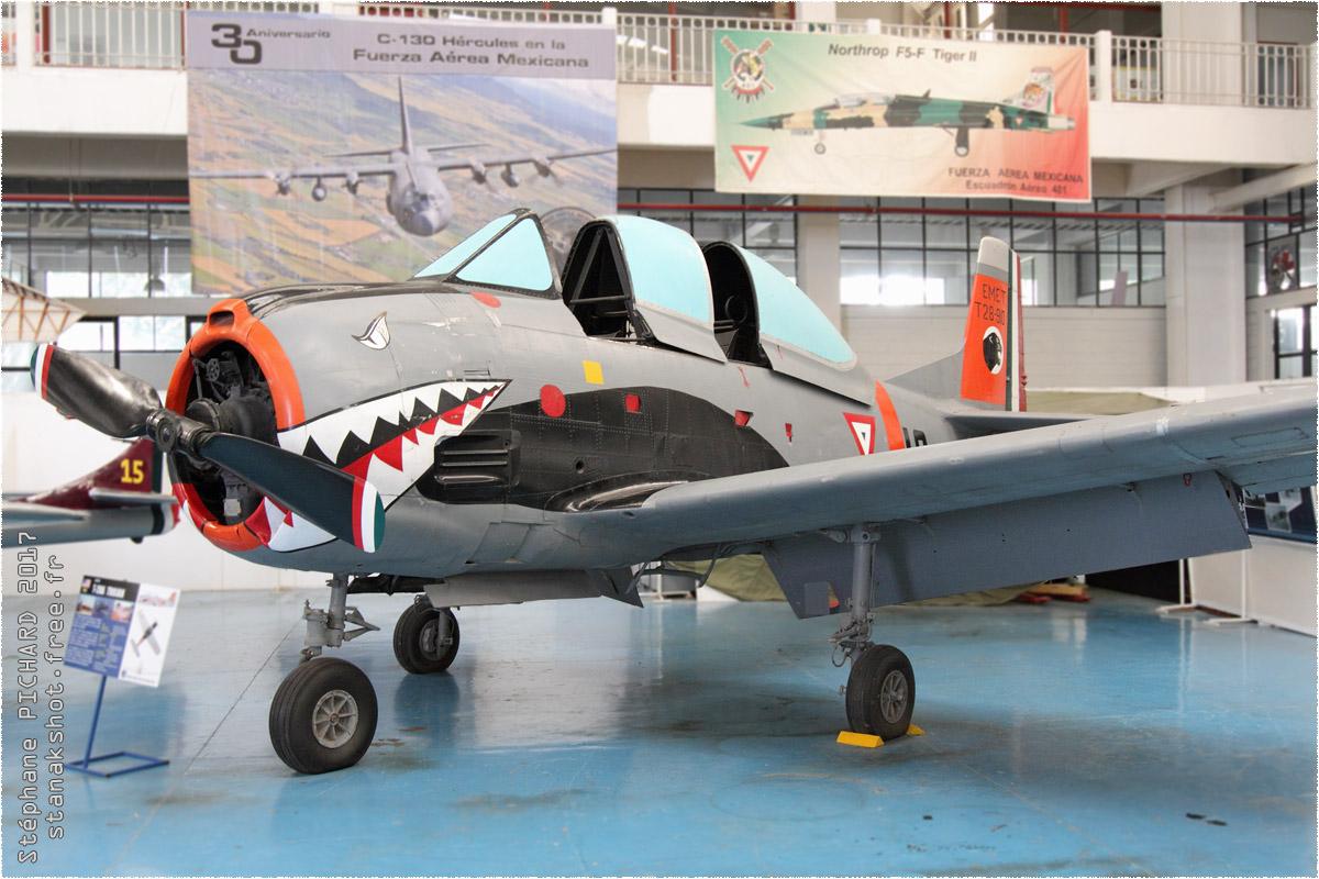 tof#9912_T-28_de la Force aérienne mexicaine