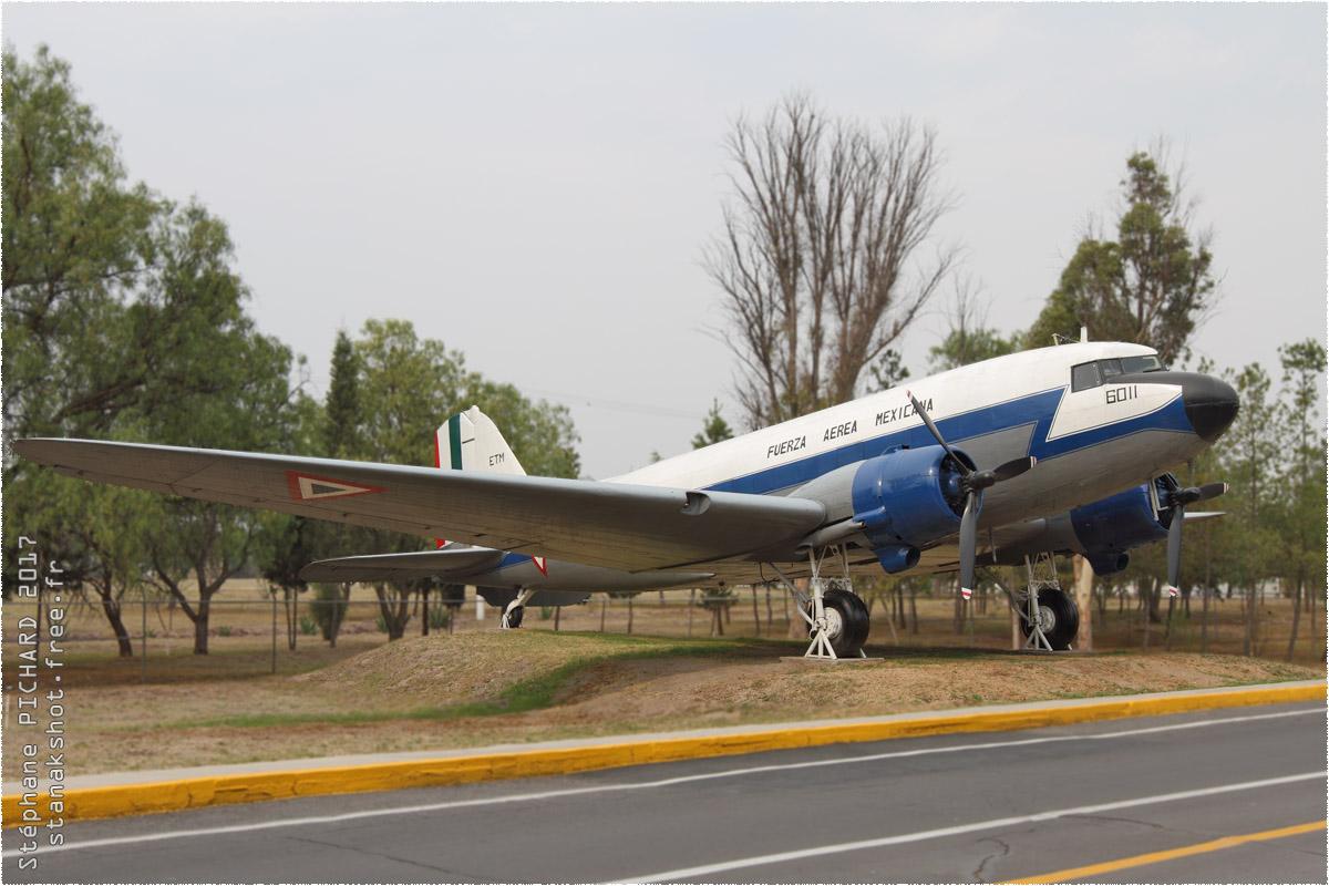 tof#9928_DC-3_de la Force aérienne mexicaine