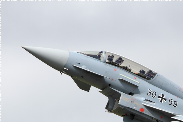 Diapo9463 Eurofighter EF-2000T Typhoon 30-59, Fairford (GBR) RIAT 2016