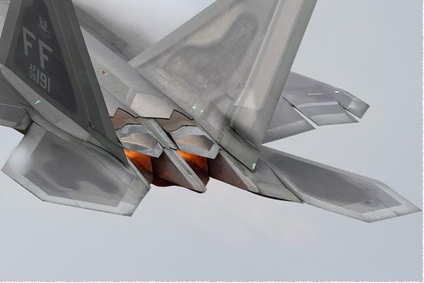 Diapo9488 Lockheed F-22A Raptor 09-4191/FF, Fairford (GBR) RIAT 2016