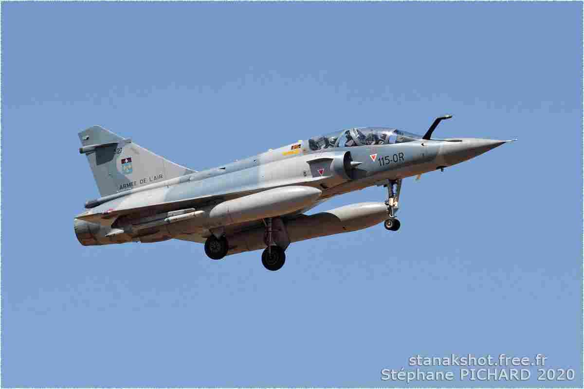 tofcomp#103 Mirage 2000 de l'Armée de l'Air française à l'atterrissage à Orange (FRA) en 2005