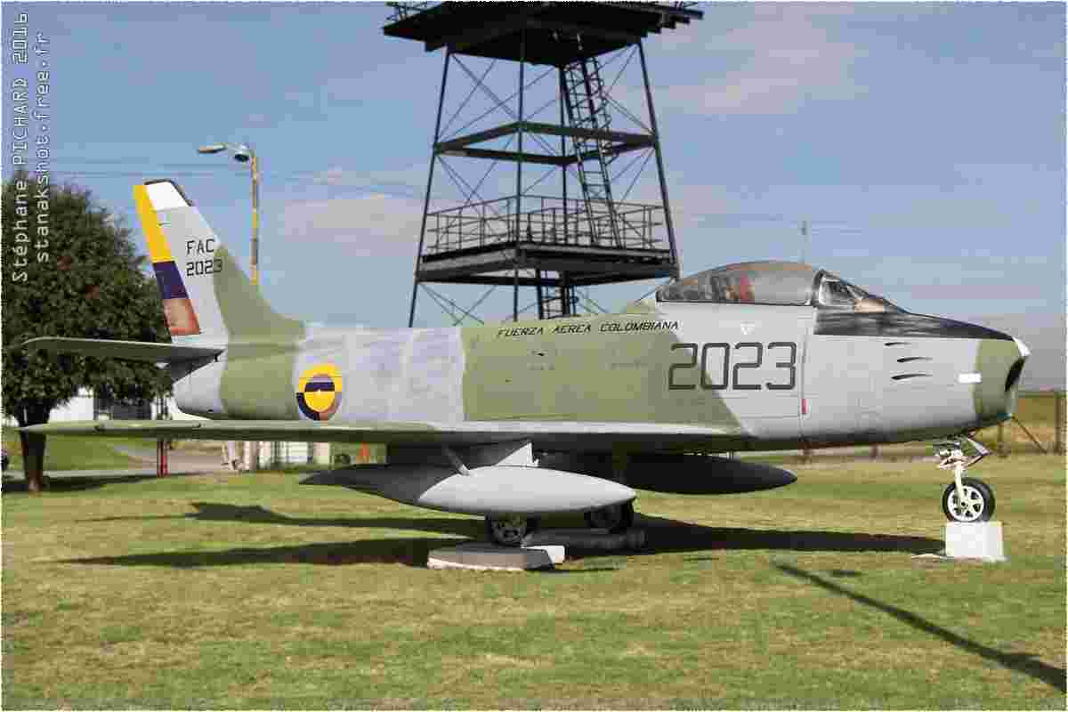 tofcomp#133-F-86-Colombie-air-force