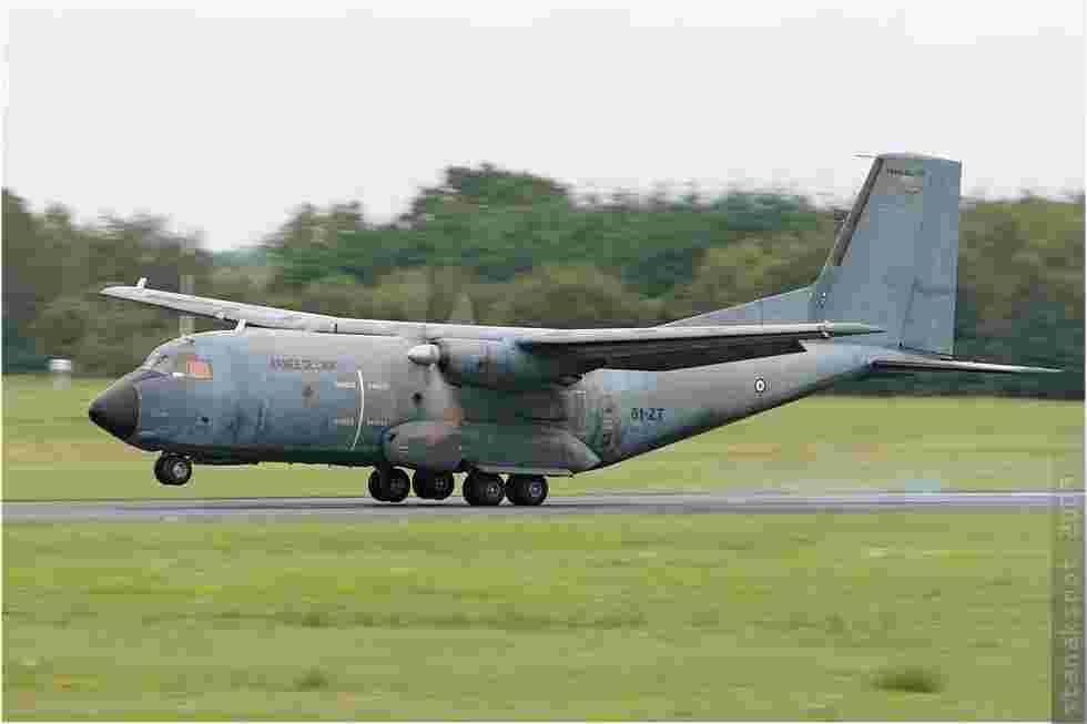 tofcomp#572 Transall de l'Armée de l'Air française à l'atterrissage à Deauville (FRA) en 2009