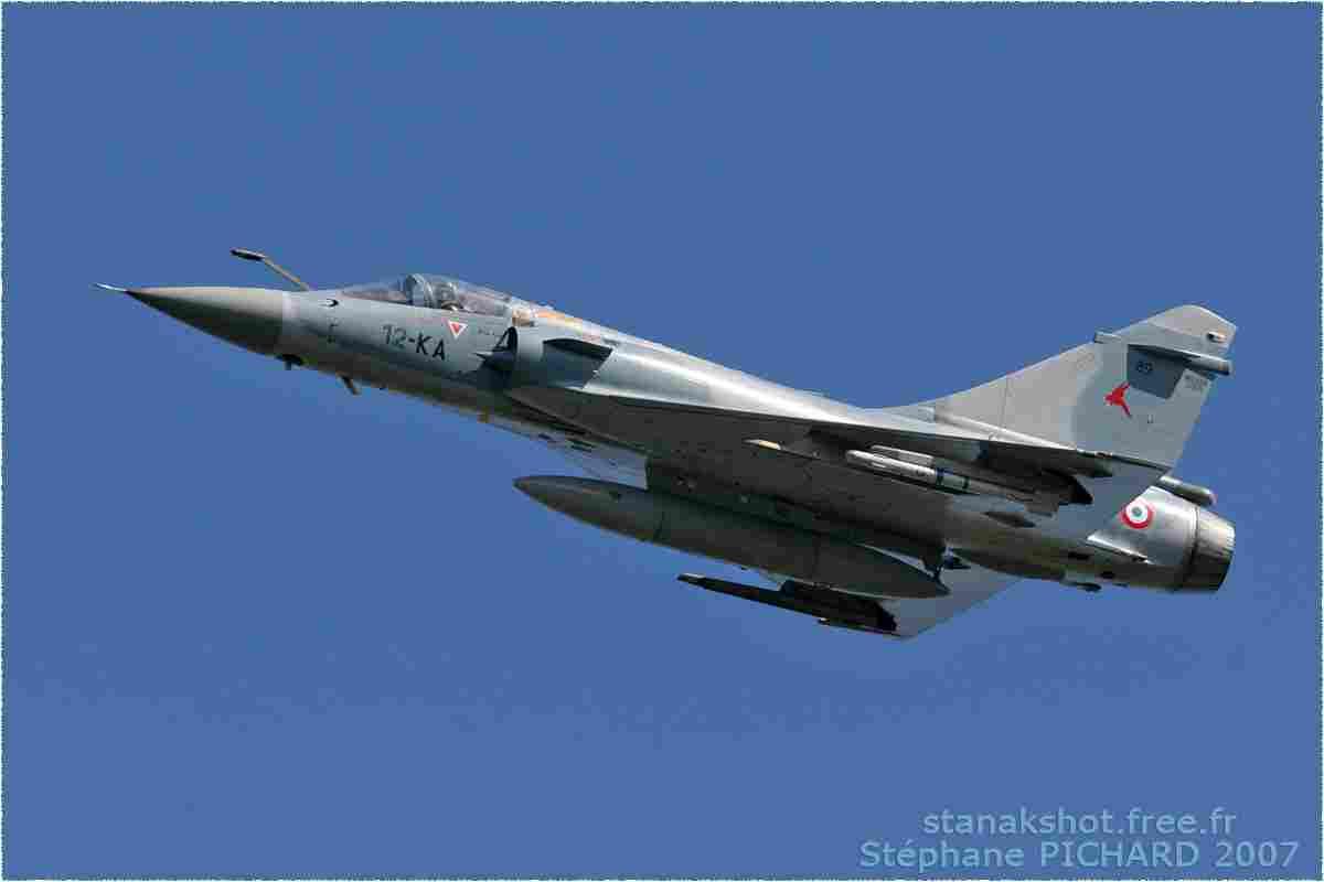 tofcomp#592 Mirage 2000 de l'Armée de l'Air française en passage bas à Deauville (FRA) en 2007