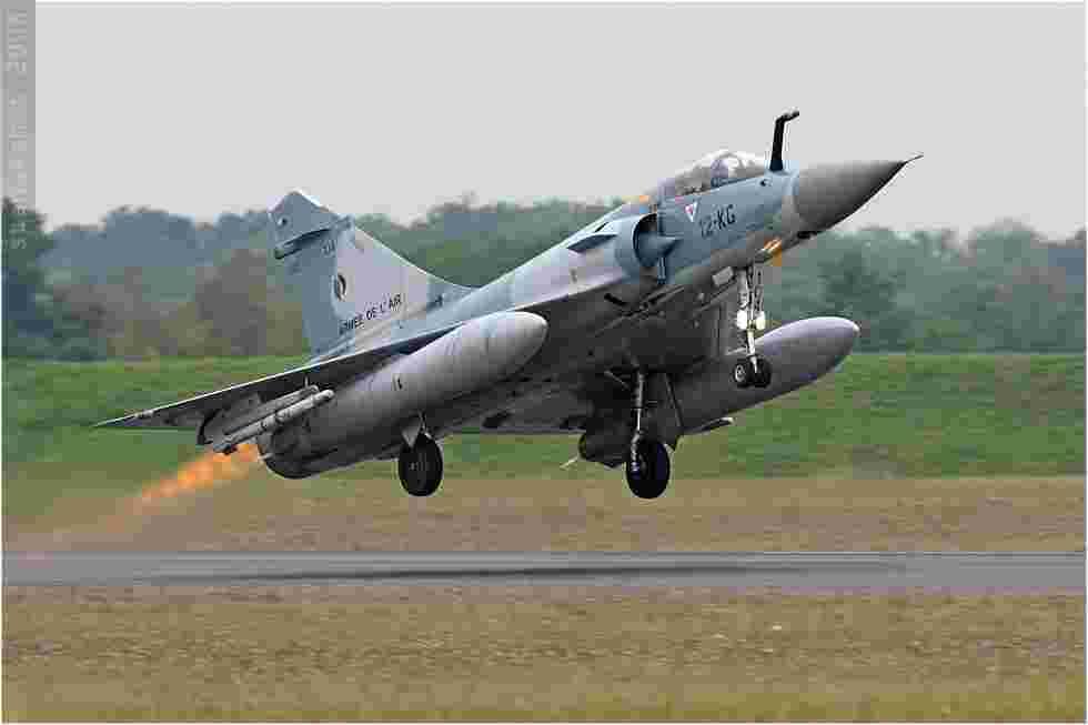 tofcomp#599 Mirage 2000 de l'Armée de l'Air française au décollage à Saint-Dizier (FRA) lors du PCTAM 2008