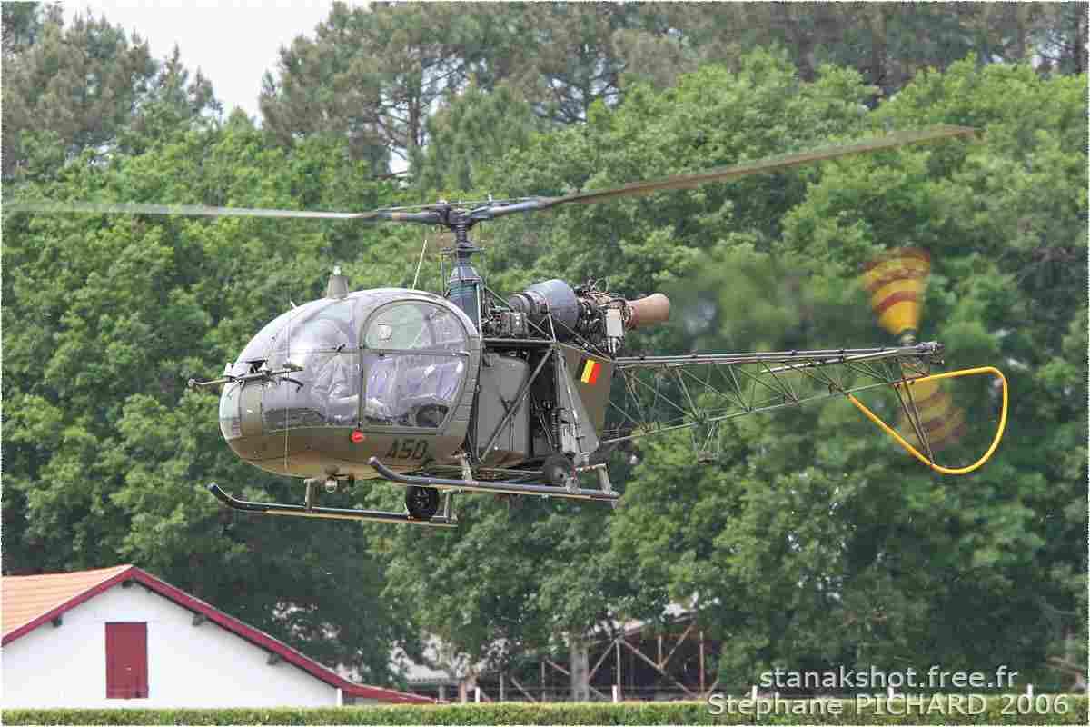 tofcomp#707-Alouette-II-Belgique-air-force