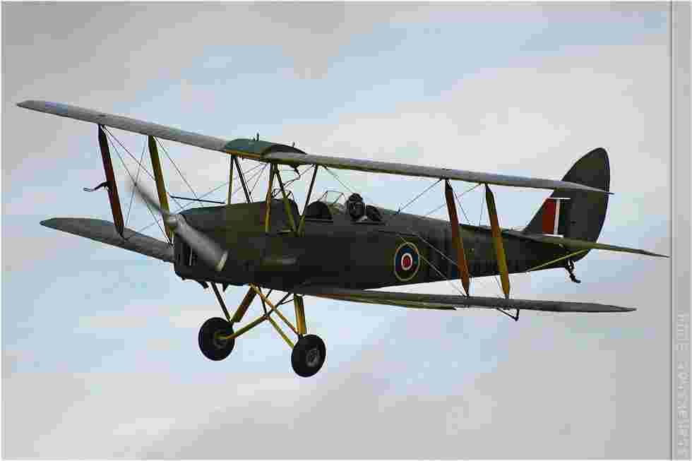 tofcomp#769 Tiger Moth enregistré en France en vol solo à Yvetôt (FRA) en 2004