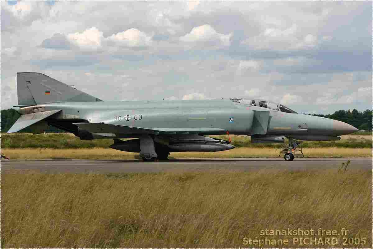 tofcomp#1079 F-4 de la Luftwaffe au roulage à Kleine-Brogel (BEL) en 2005