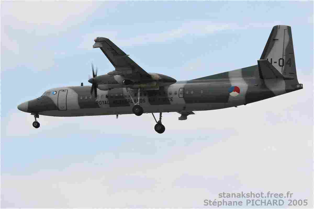 tofcomp#1080-Fokker-50-Pays-Bas-air-force