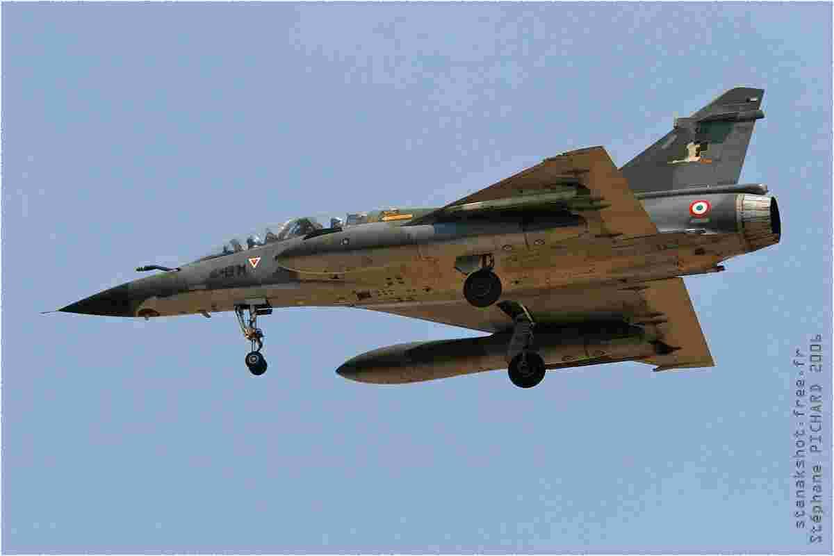 tofcomp#1569 Mirage 2000 de l'Armée de l'Air française à l'atterrissage à Evreux (FRA) en 2006