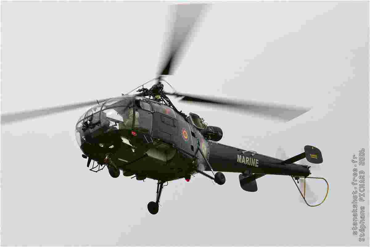 tofcomp#1757 Alouette III de la Marine belge à l'atterrissage à Beauvechain (BEL) en 2006