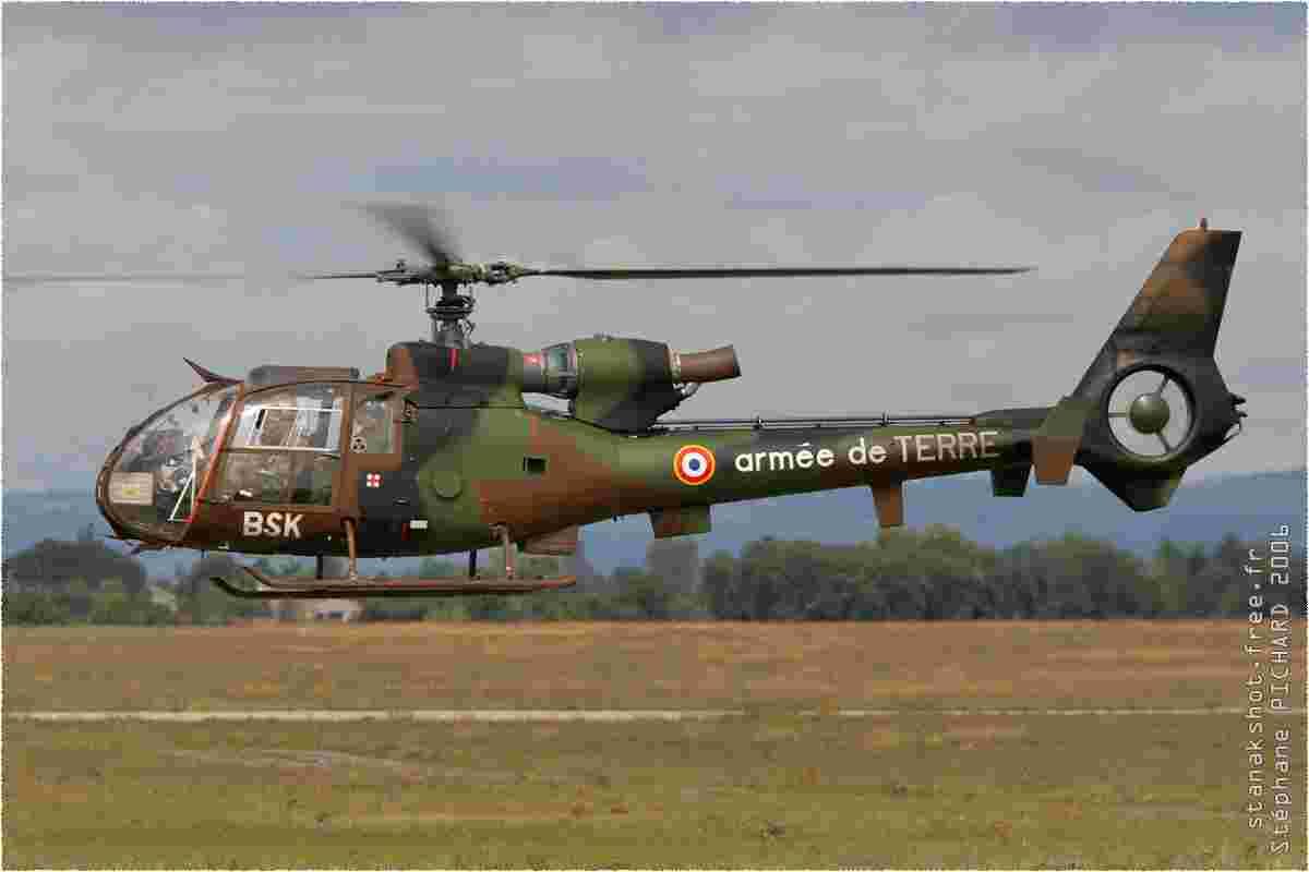 tofcomp#1843 Gazelle de l'Aviation légère de l'Armée de terre française à l'atterrissage à Valence (FRA) en 2006