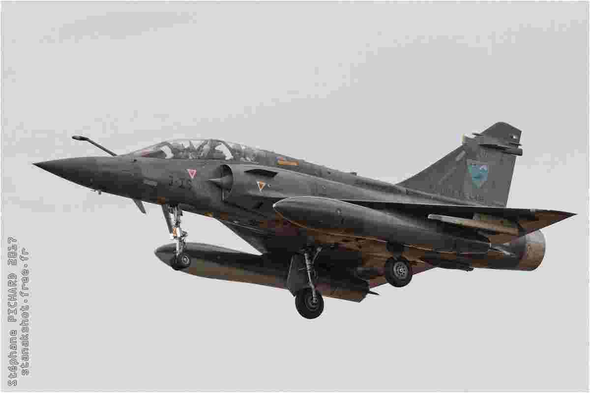 tofcomp#10043 Mirage 2000 de l'Armée de l'Air française à l'atterrissage à Evreux (FRA) en 2017