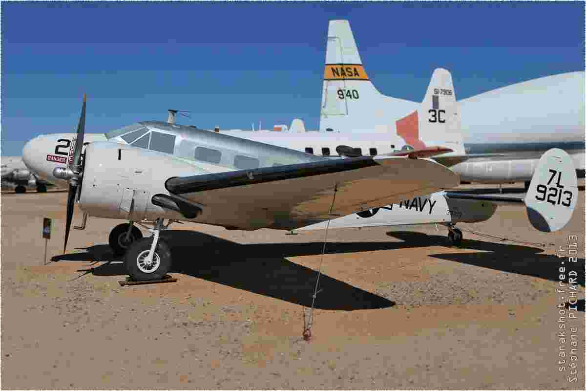 tofcomp#10167-Beech-18-USA-navy